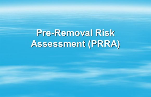 Apply for Pre-Removal Assessment